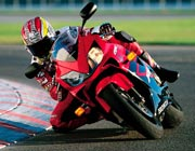 Honda racing bike